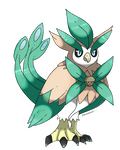 Rowlet's fake evoultion: Meadowl