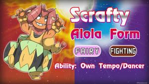 Alolan Scrafty