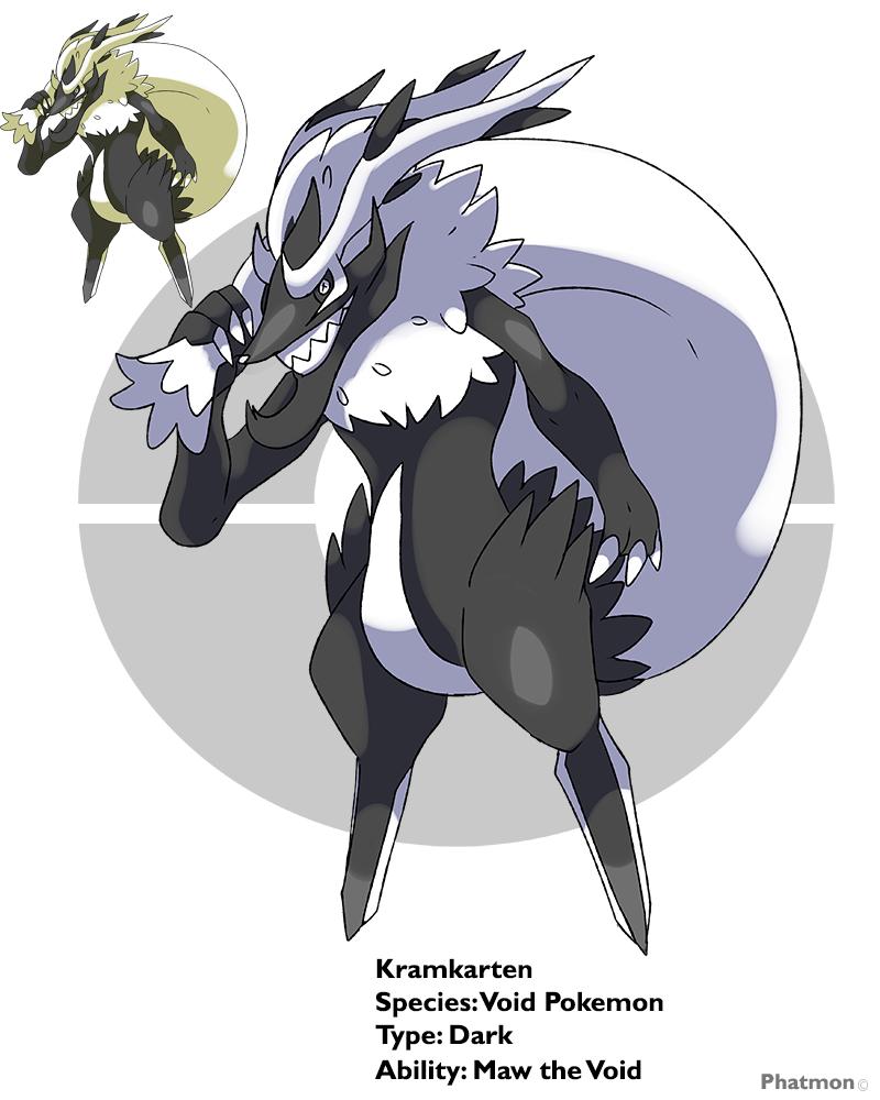 Krampus Fakemon -Kramkarten by Phatmon