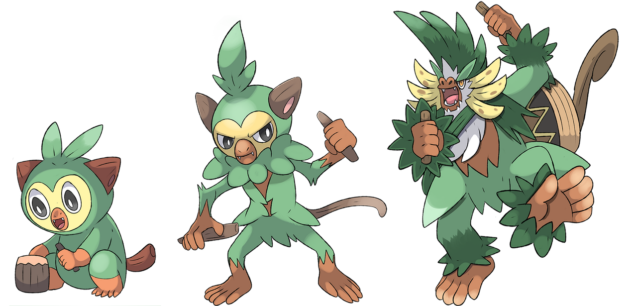 Grookey S Fake Evolutions By Phatmon On Deviantart I have a feeling that i'm going to be let down tremendously when the real final evolution is revealed. fake evolutions by phatmon on deviantart