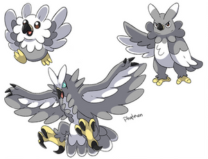 Harpy Eagle Pokemon Concept