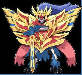 Zacian X Zamazenta Fusion