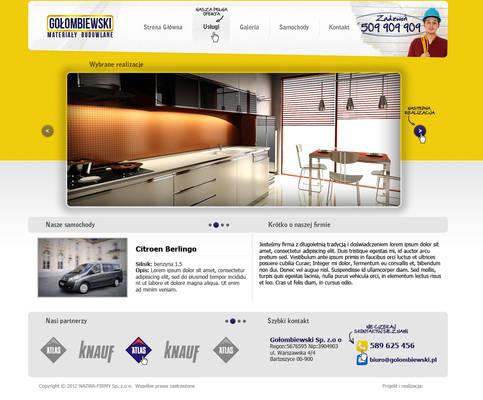 Layout for GOLOMBIEWSKI company