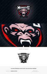 German Monkey logo design