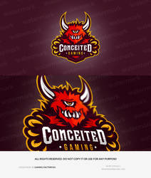 Conceited Gaming Logo Design