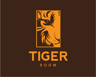 Logo Design For Tiger Room By Minor Eight On Deviantart
