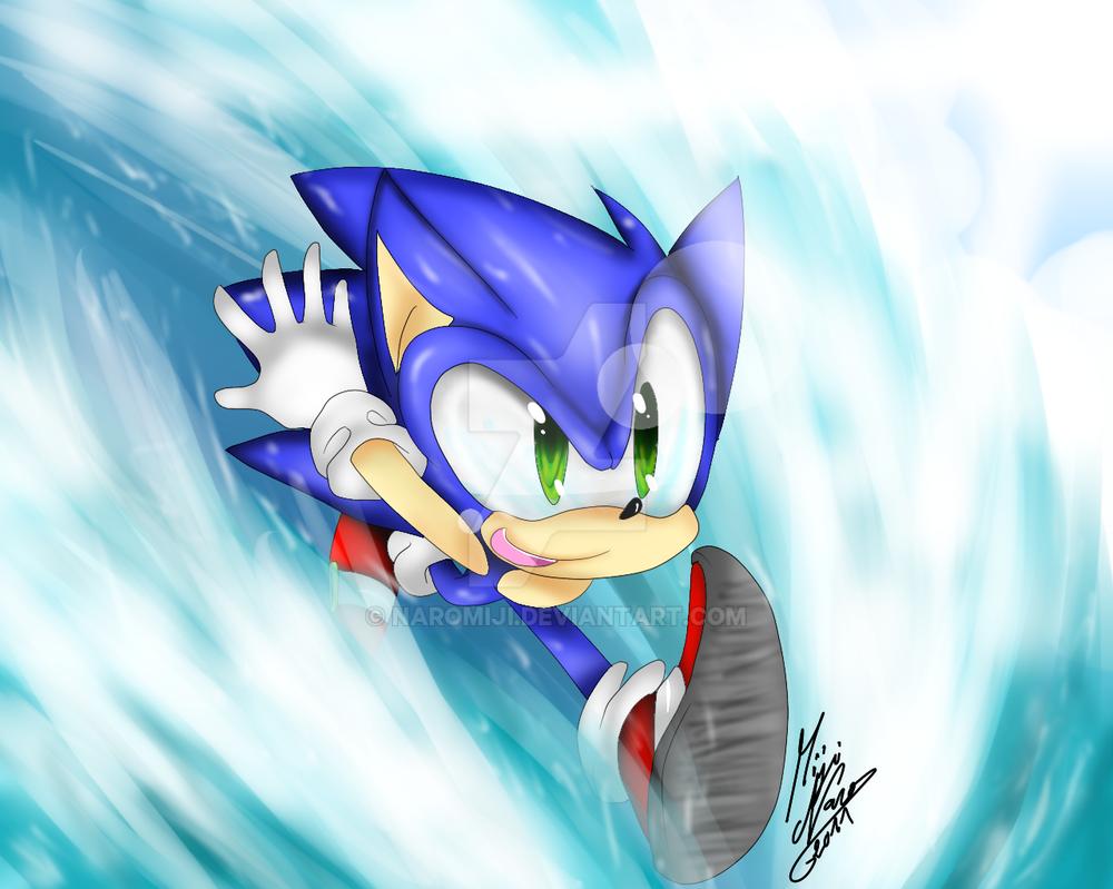 Sea running by Naromiji
