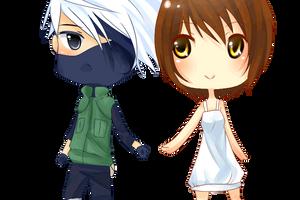 PC : Patti and Kakashi by Naromiji