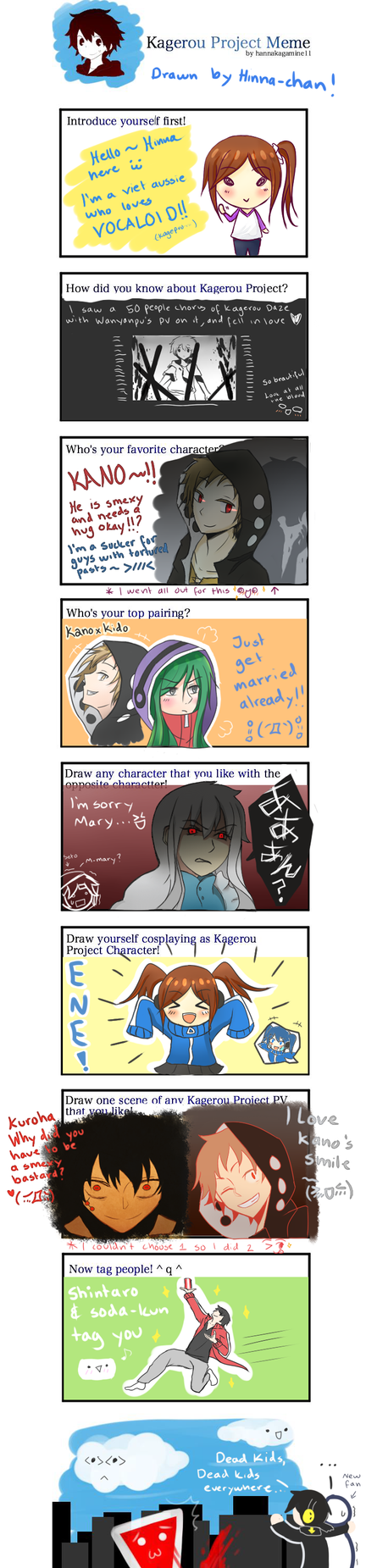 Kagerou Project meme by Hinna-chan