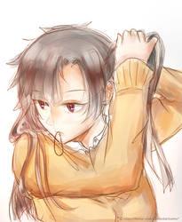 Takane Sketch by Hinna-chan