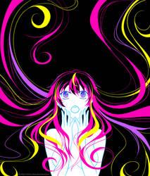 Neon Vocaloid: Luka by Hinna-chan