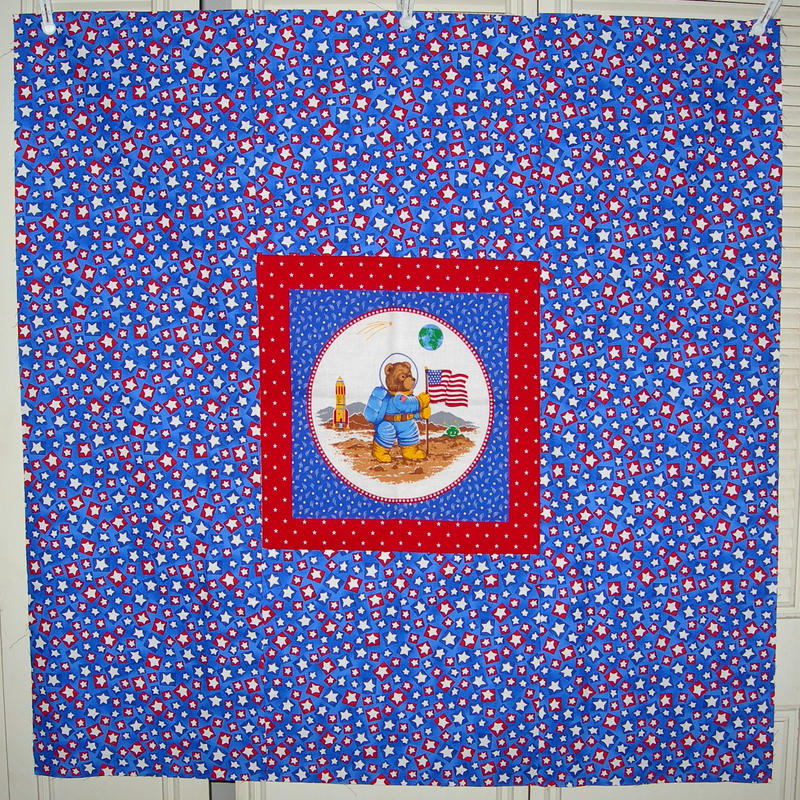 All-Star Astronaut Quilt Top by UrsulaPatch on DeviantArt