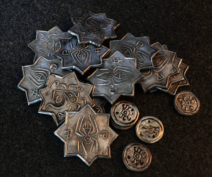 Pile of drow coins