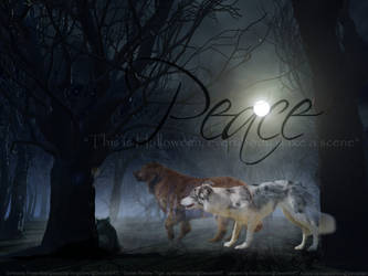 Peace, and Halloween by DeepSeaBreakfast