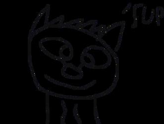 Random Wolf Drawing by AnimatorMarco