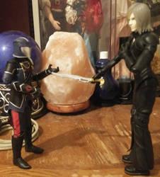 kadji vs. the commander