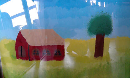 The red farm by deviantstar2
