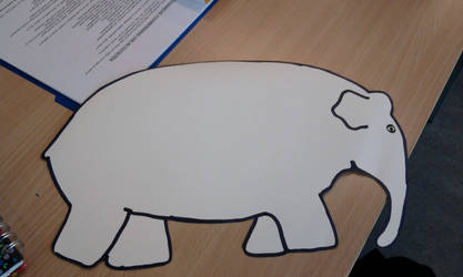 Elmer, the elephant (1) by deviantstar2
