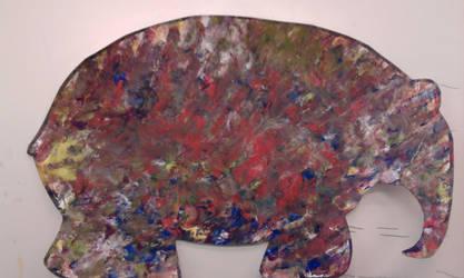 Elmer, the elephant (2) by deviantstar2
