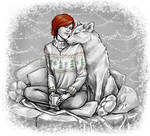 Shani  and the white wolf