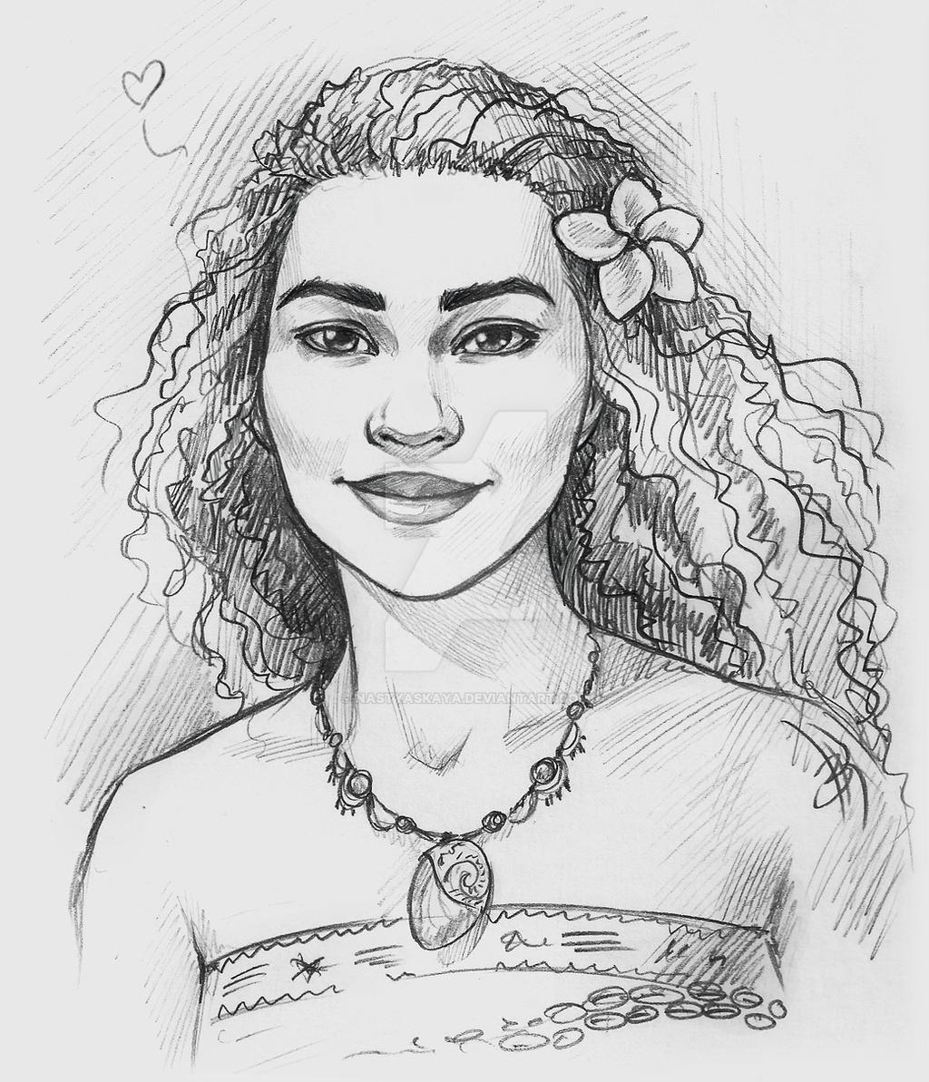 Moana (sketch!) by Nas...