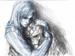 Garrus Vakarian and Shepard