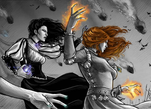 Yennefer and Triss