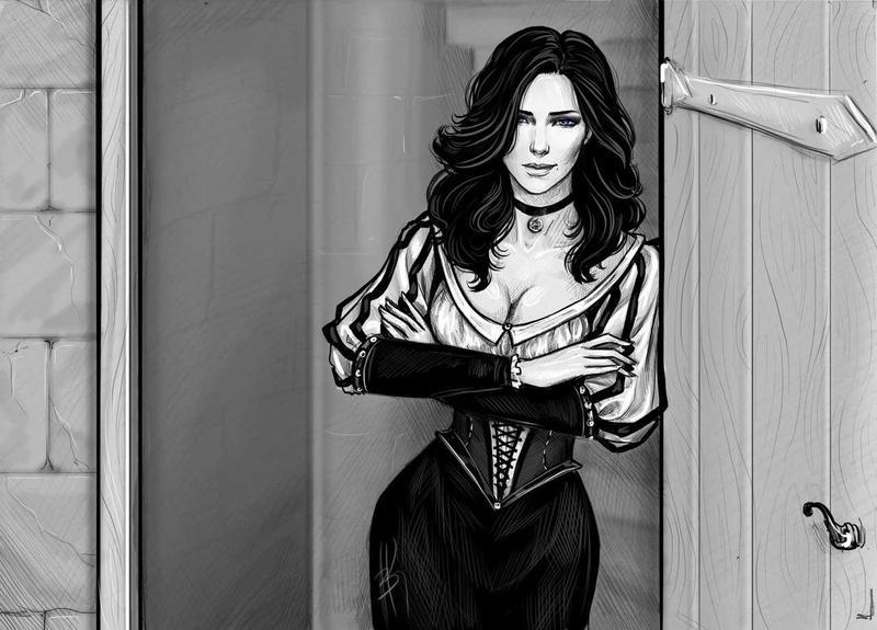 Йеннифер рисунки
