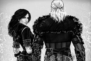 Yennefer and Geralt