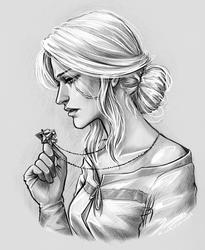 Cirilla Fiona Elen Riannon by NastyaSkaya