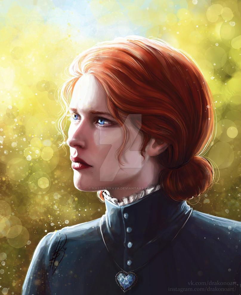 Triss Merigold by NastyaSkaya
