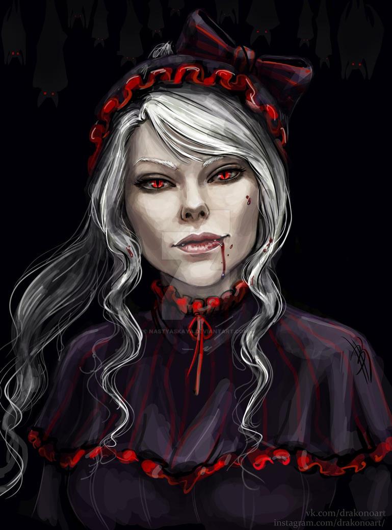 Shalltear Bloodfallen by NastyaSkaya