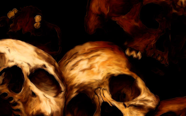 skulls by morganian