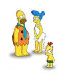 Simpsons meet Flinstones