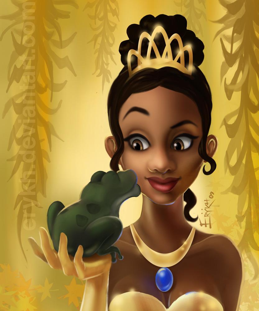 Princess Tiana Art: Princess Tiana And The Frog By Erykh On DeviantArt
