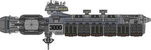 Cleveland Class USS Cleveland SCGN-3000