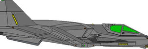 SF-47 Raven Space Superiority Fighter