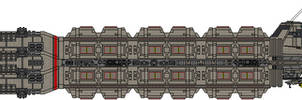 Colonial Military Munitions Freighter