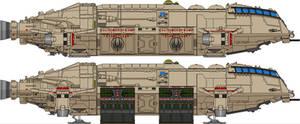 Meteor Class Dropship - First Cylon War