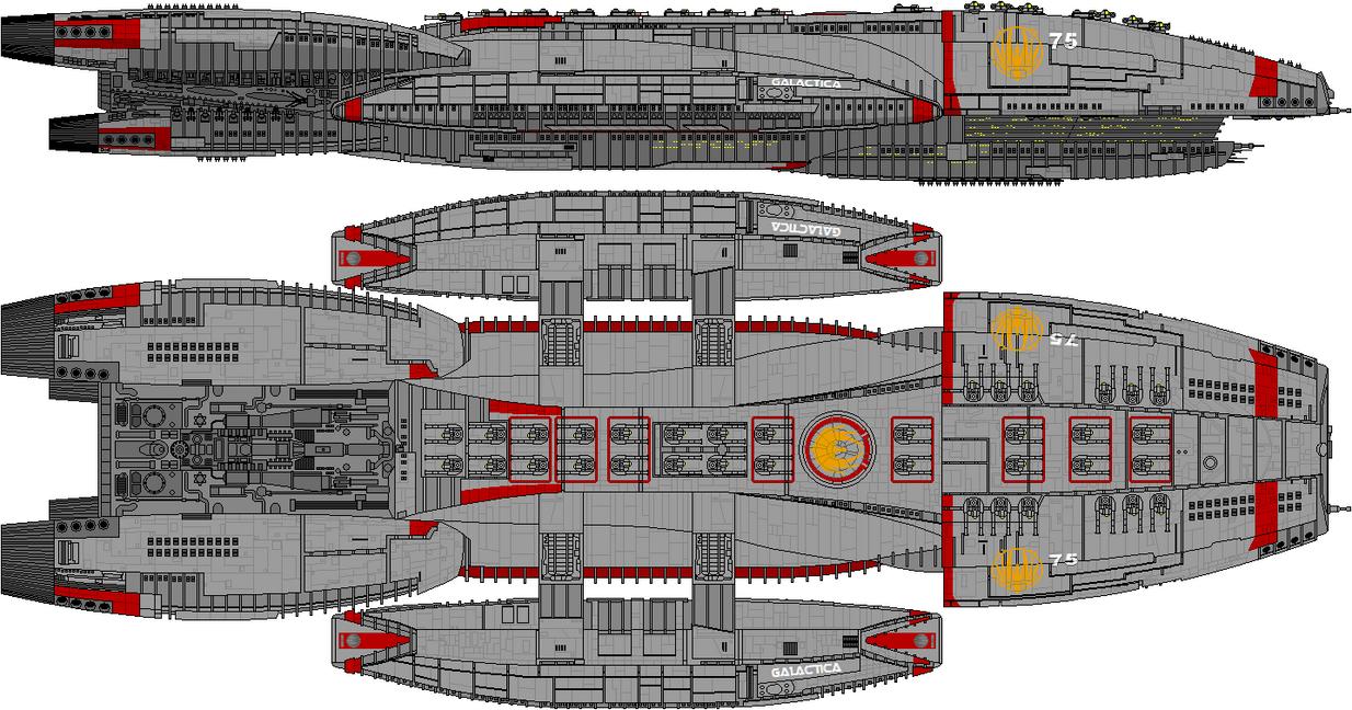 Battlestar Galactica (BnC Overkill Edition) by Kelso323