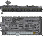 John F Kennedy Class USS Saratoga SCVN-2812