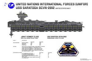 USS Saratoga SCVN-2812 Data Sheet by Kelso323