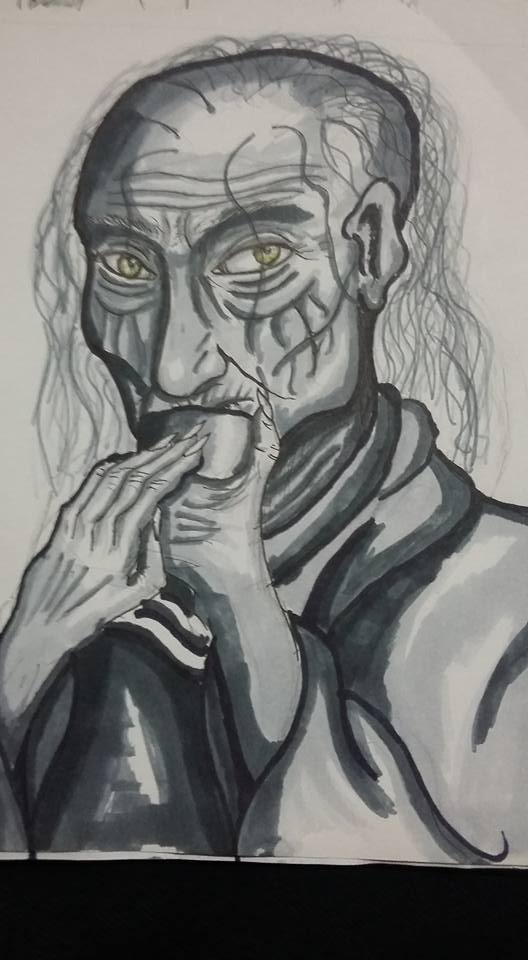 Eturgia the witch by Xwolf