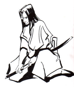 Ukyo Inking practice