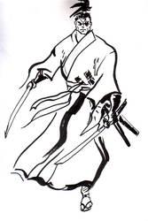 Jubei inking practice