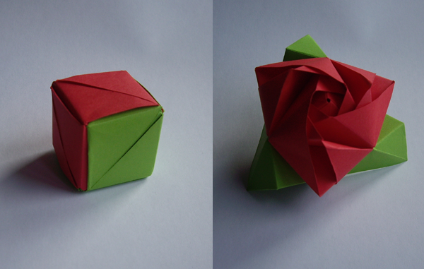 magic rose cube by neferush on deviantart