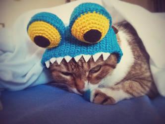 Cat's Monster Hat