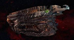 Organic Starship - Heavy Patrol Cruiser