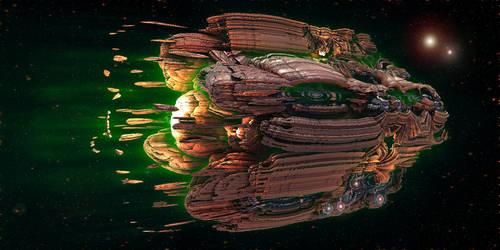 Organic Starship spawning