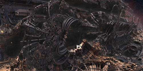 Abandoned Alien Ruins
